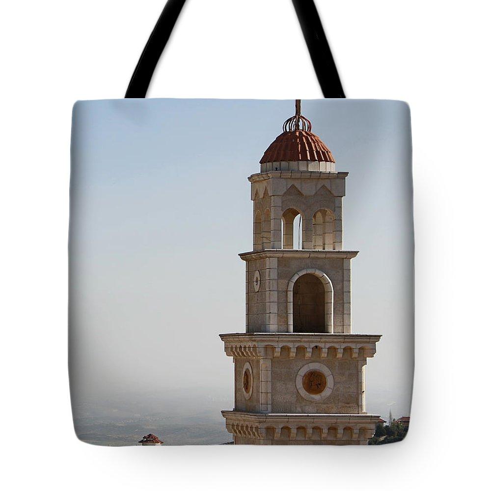 Bird Tote Bag featuring the photograph Bird View by Munir Alawi
