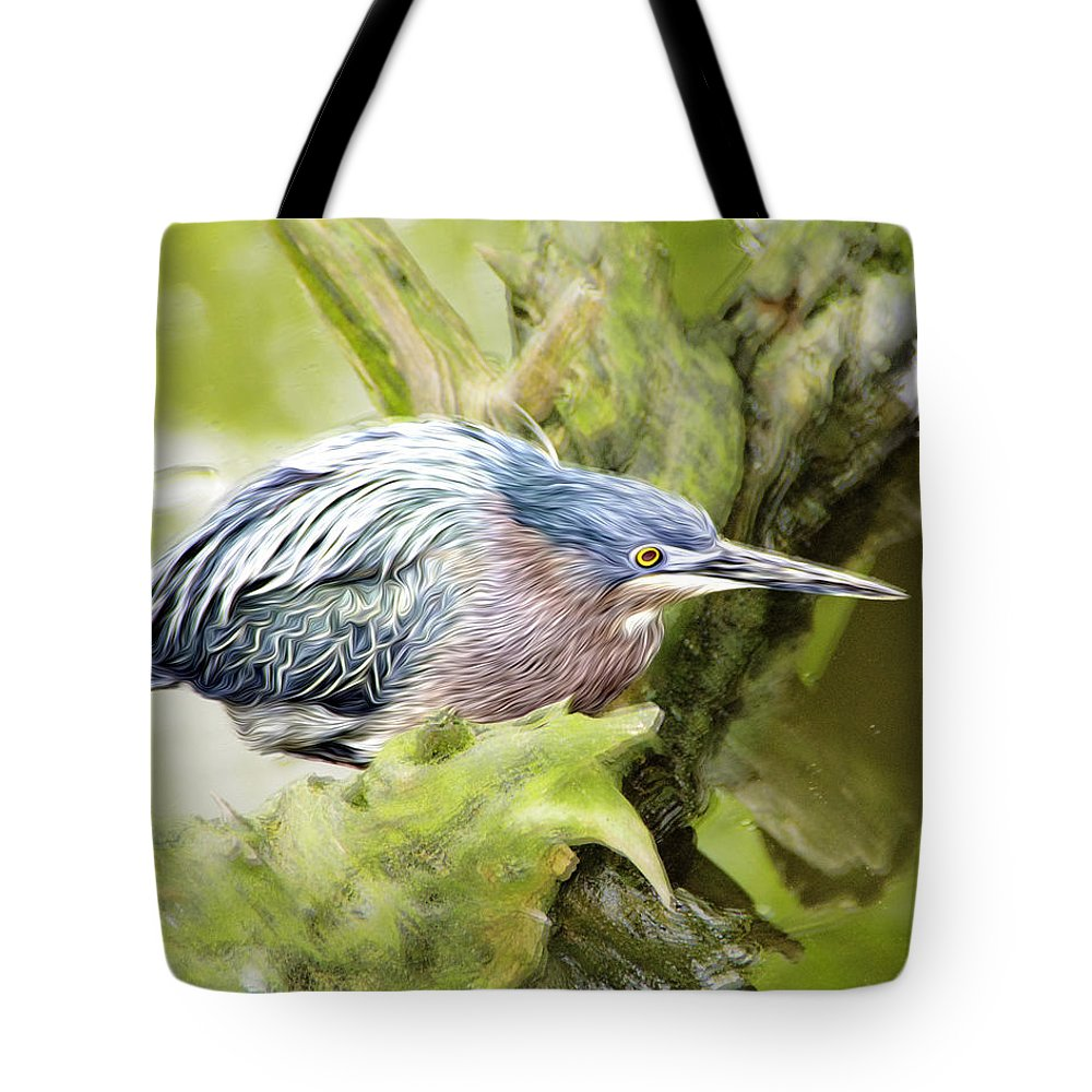 Bird Tote Bag featuring the photograph Bird Whirl2 by James Ekstrom