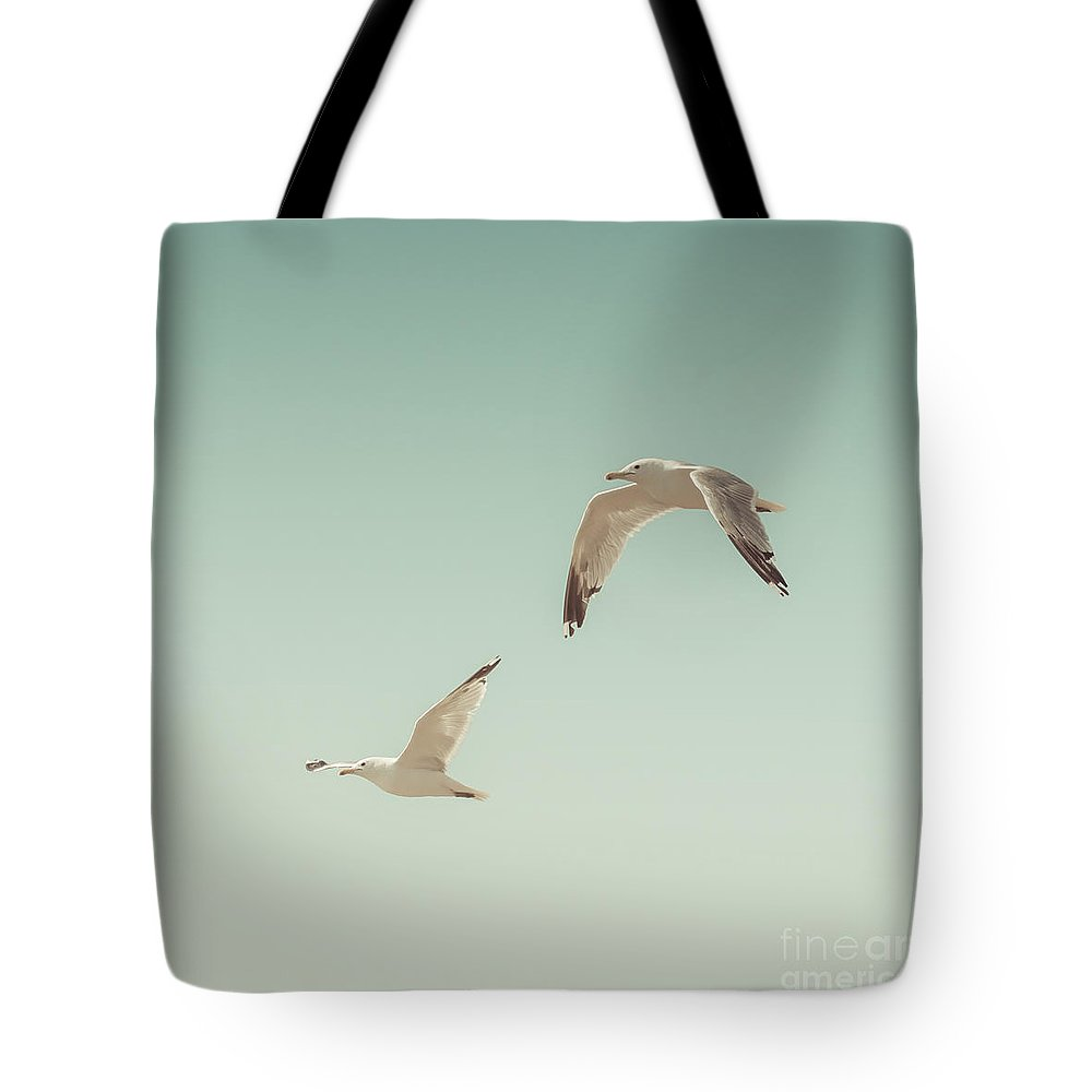 Seagull Photographs Tote Bags
