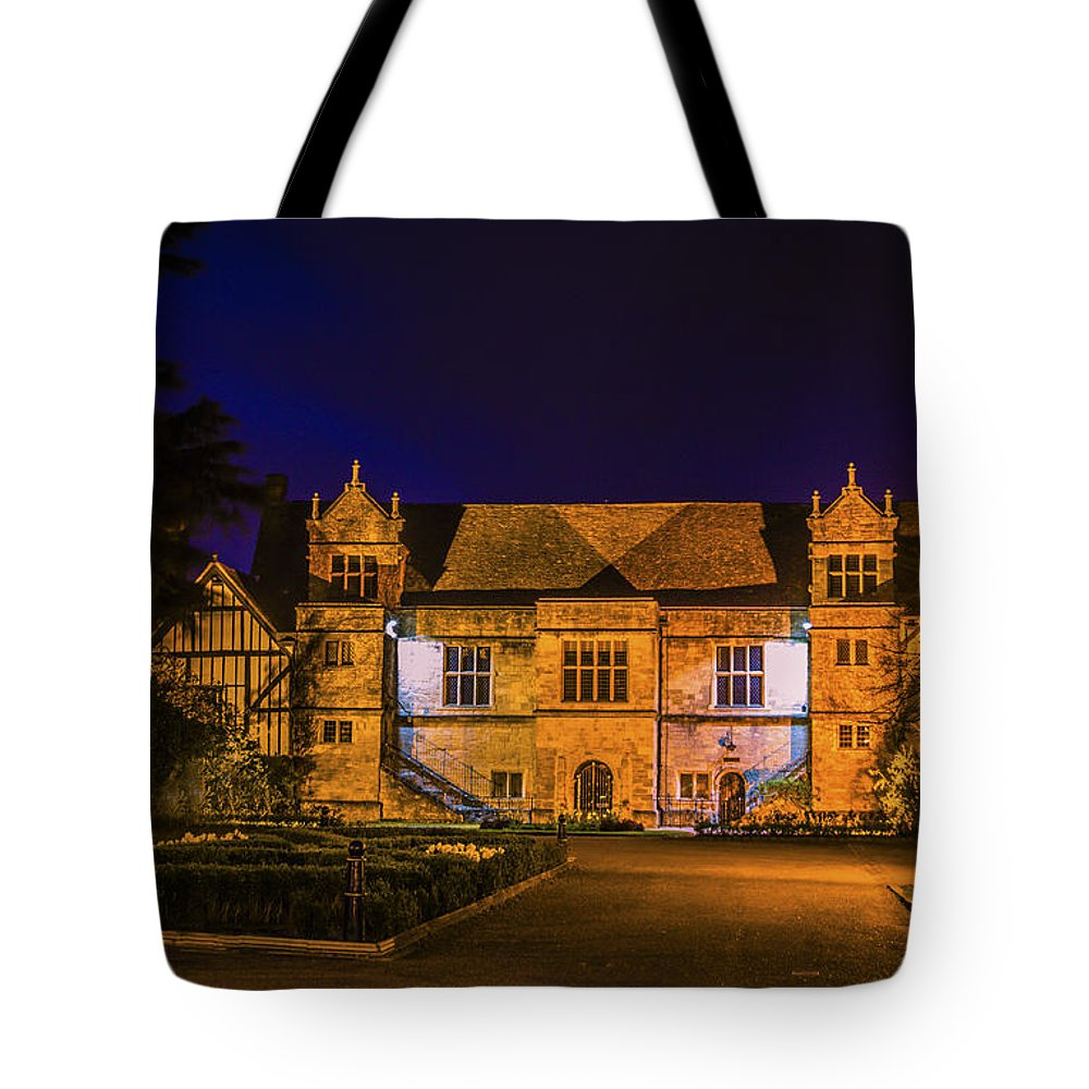 Bishops Palace Tote Bag featuring the photograph Bishops Palace by Dawn OConnor