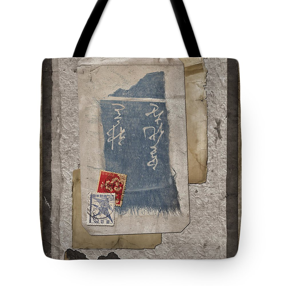 Paper Tote Bag featuring the photograph Bits And Pieces by Carol Leigh