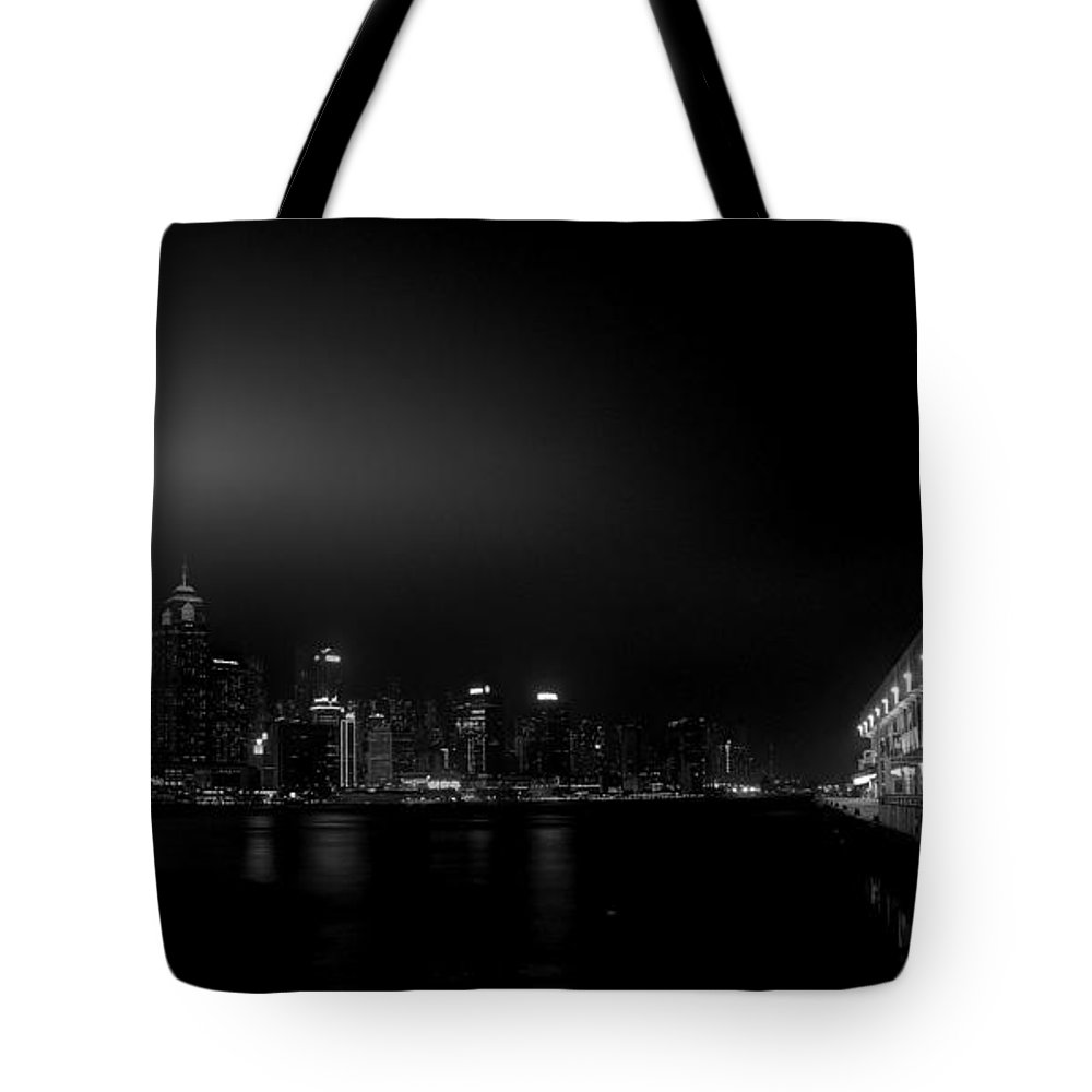 Kowloon Tote Bag featuring the photograph Black Orient by Peter Thoeny