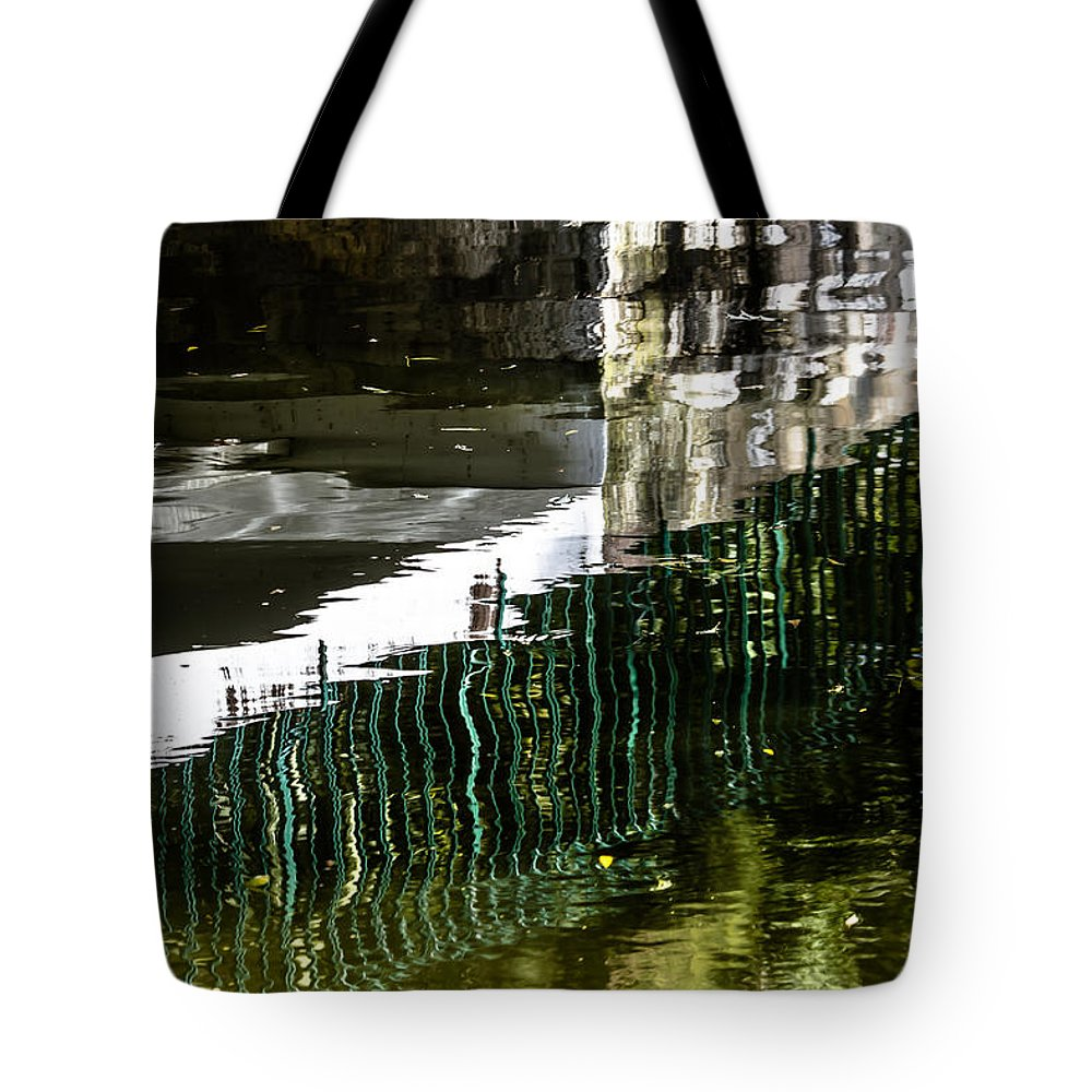 Light Tote Bag featuring the photograph Blades Submerged by Edgar Laureano