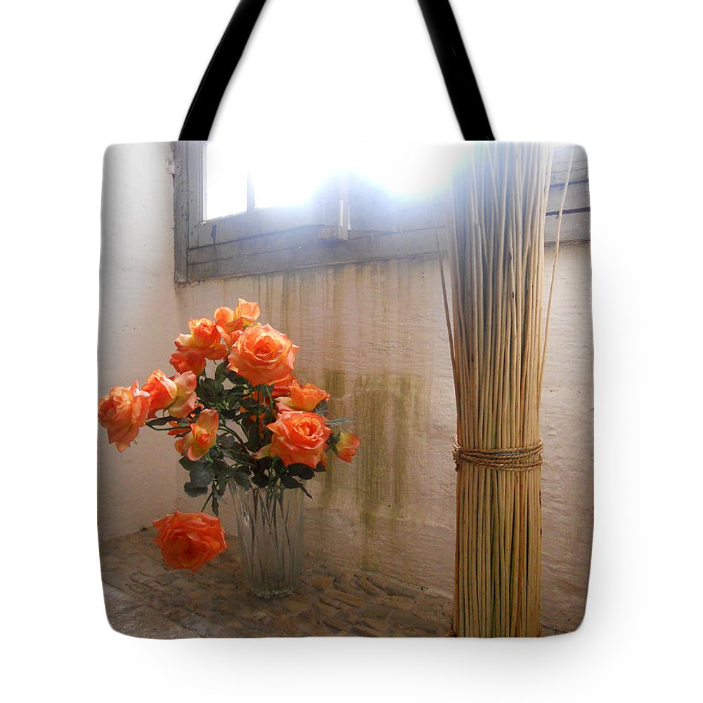 Still Life Tote Bag featuring the photograph Blinded By The Light by Lauren Leigh Hunter Fine Art Photography