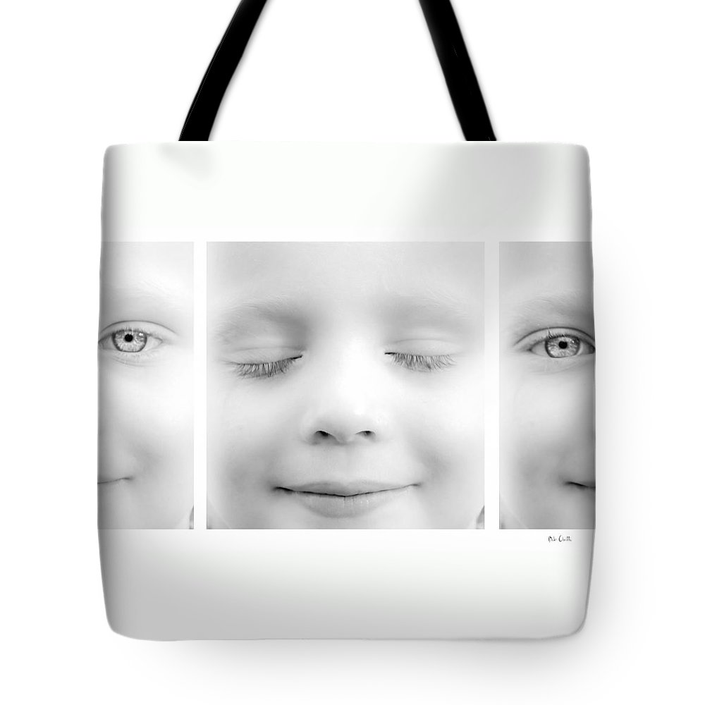 Eyes Tote Bag featuring the photograph Blink by Bob Orsillo