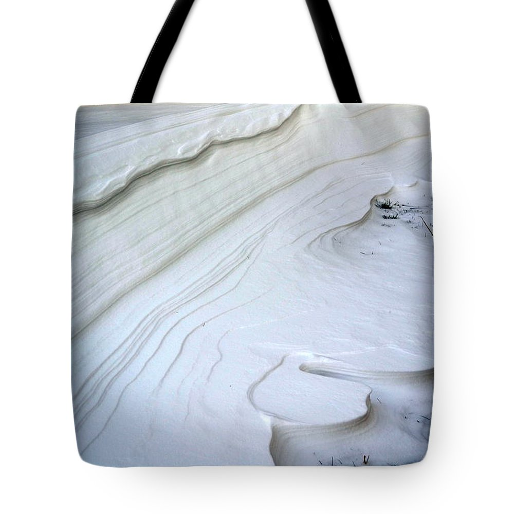 Blizzard Tote Bag featuring the photograph Blizzard Art by Kevin Fortier