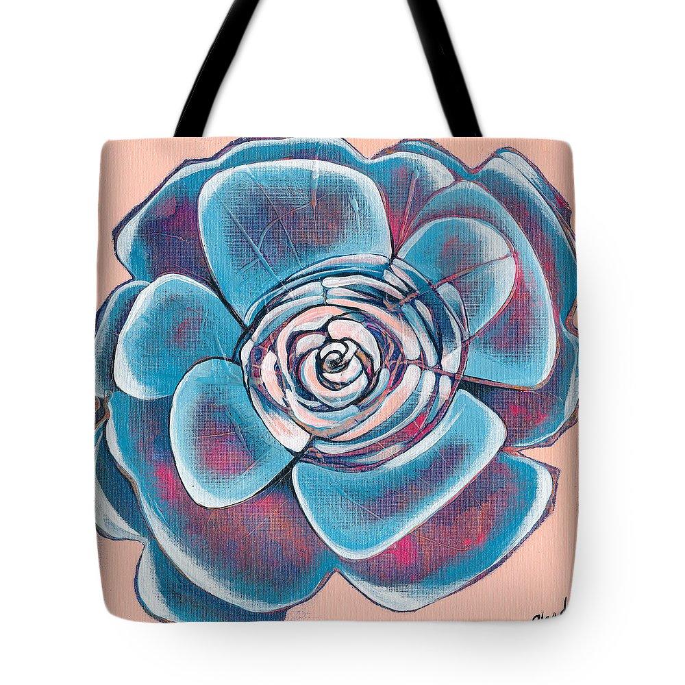 Bloom Paintings Tote Bags