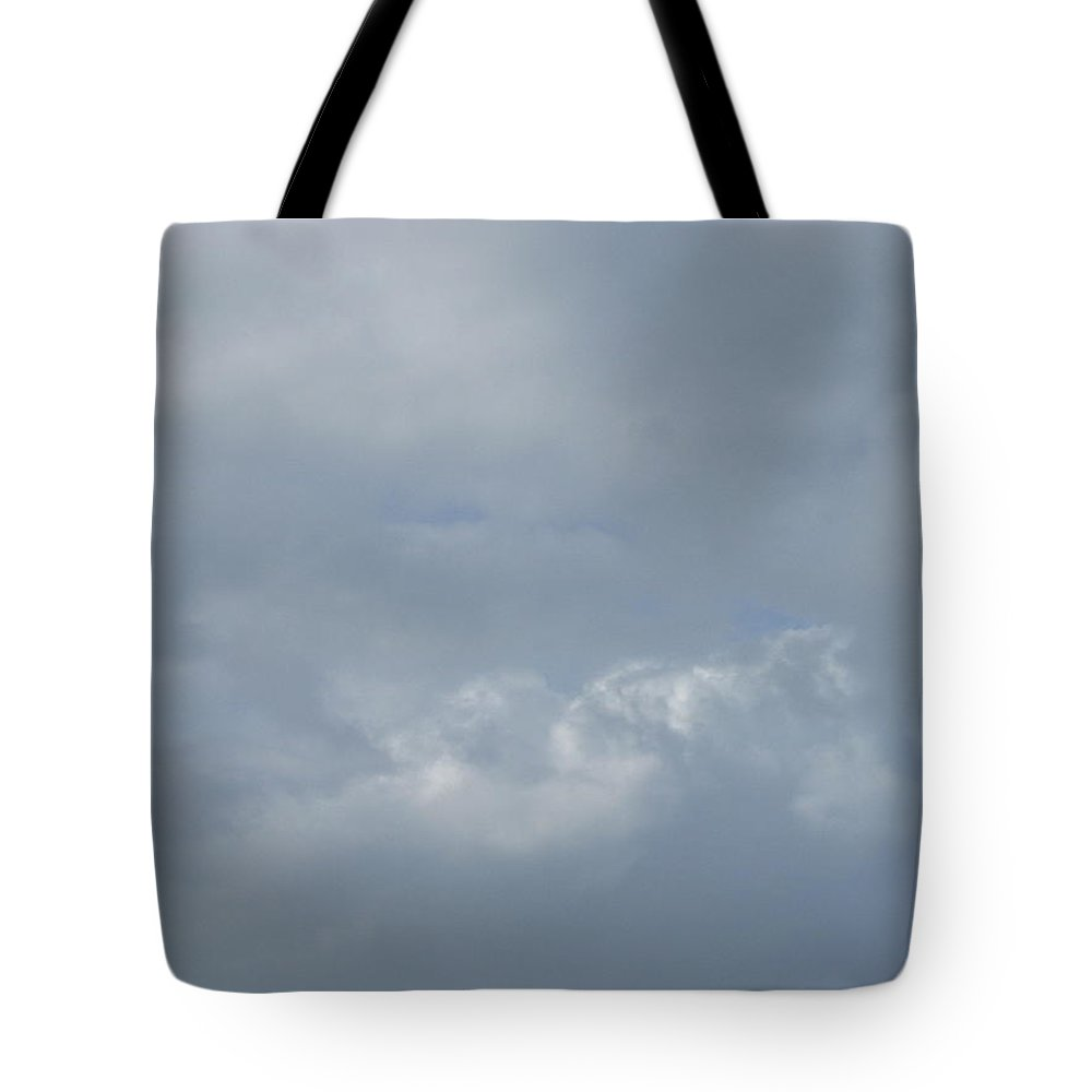 Landscape Tote Bag featuring the photograph Blowing Smoke by Ellen Meakin
