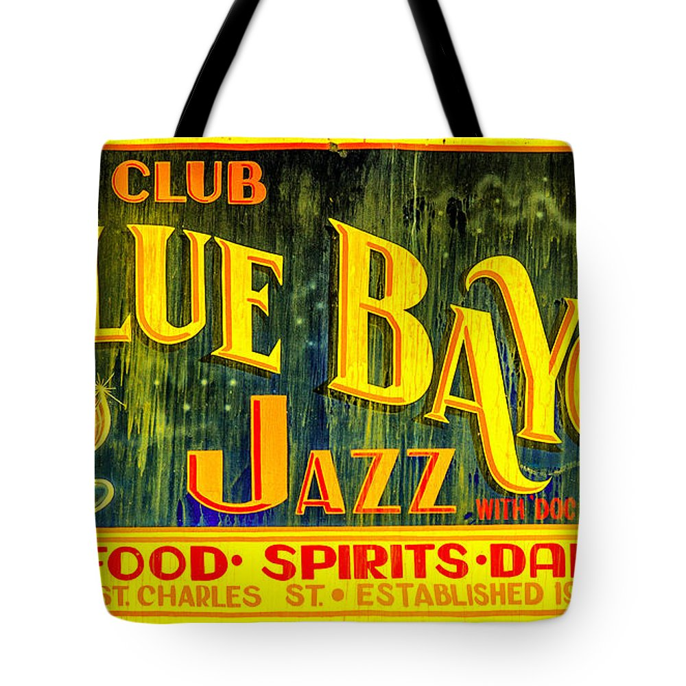 Blue Bayou Tote Bag featuring the photograph Blue Bayou by Diana Powell