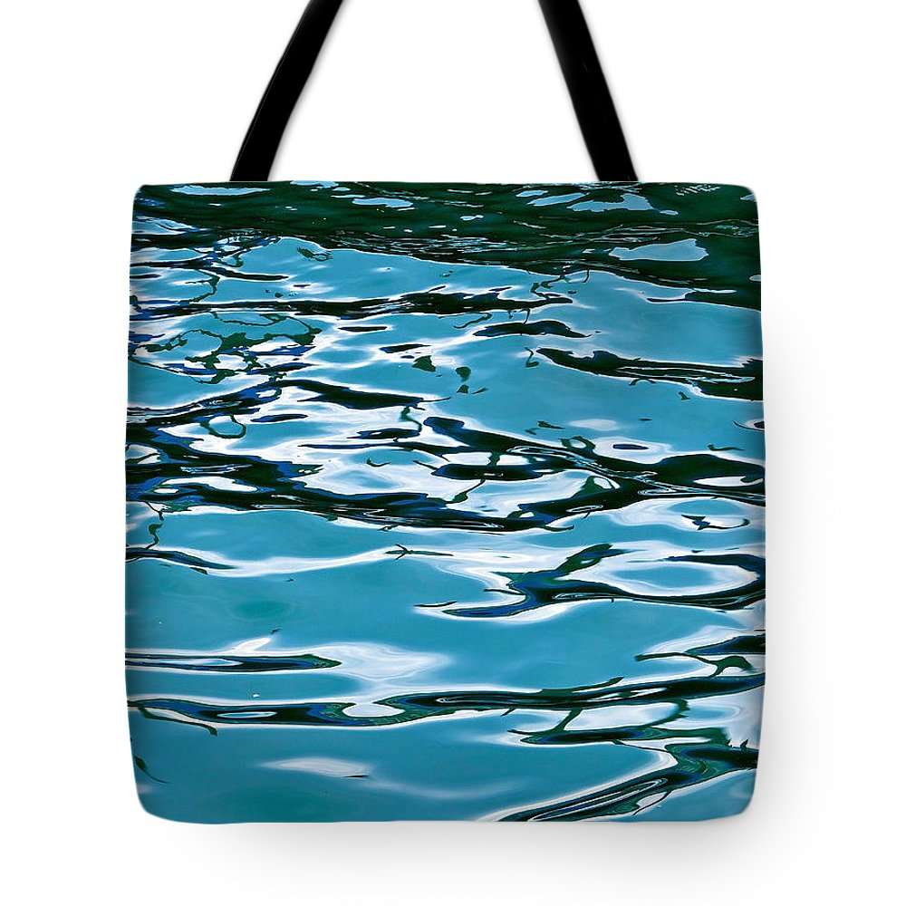 Venice Tote Bag featuring the photograph Blue Laguna by Ira Shander