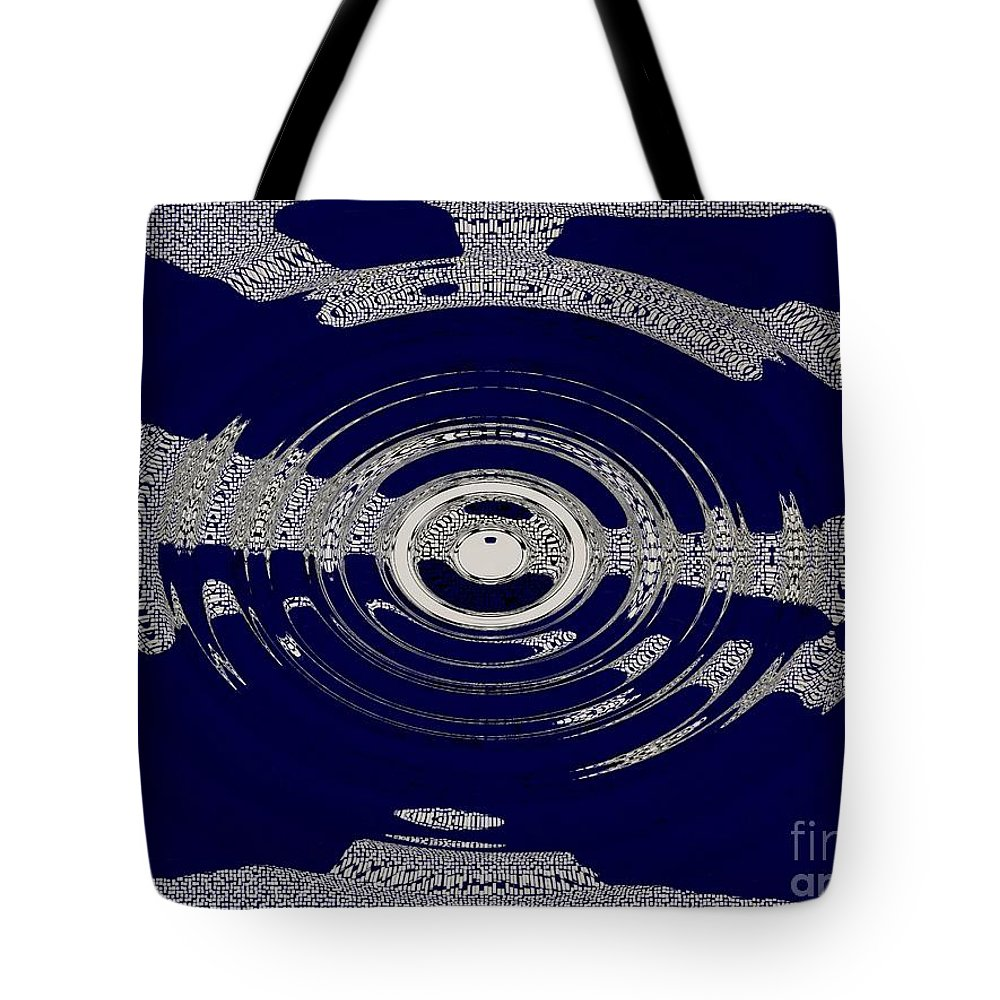 Dramatic Sky Tote Bag featuring the photograph Blue Motion by Joseph Baril