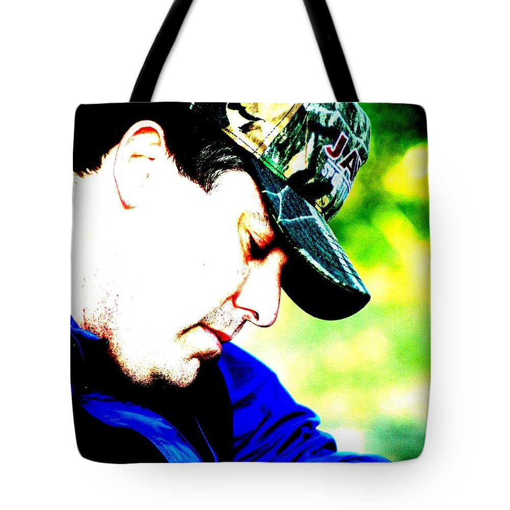 Atlanta Tote Bag featuring the photograph Blue North by Joseph Yarbrough