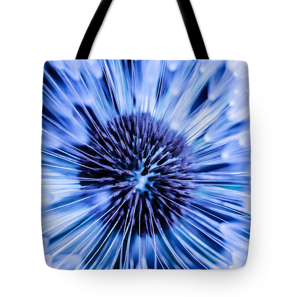 Tote Bag featuring the photograph Blue Wish by Gerald Kloss