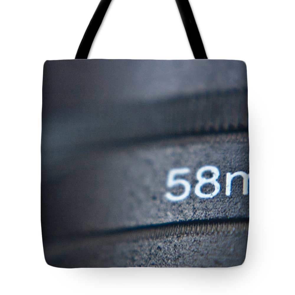 58 Tote Bag featuring the photograph Blurred by Rhonda Barrett