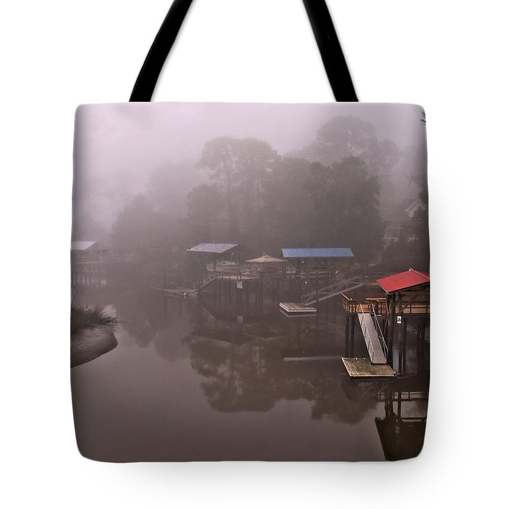 Georgia Tote Bag featuring the photograph Boat House Row by Laura Ragland