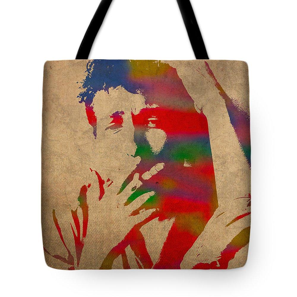 Bob Dylan Tote Bags