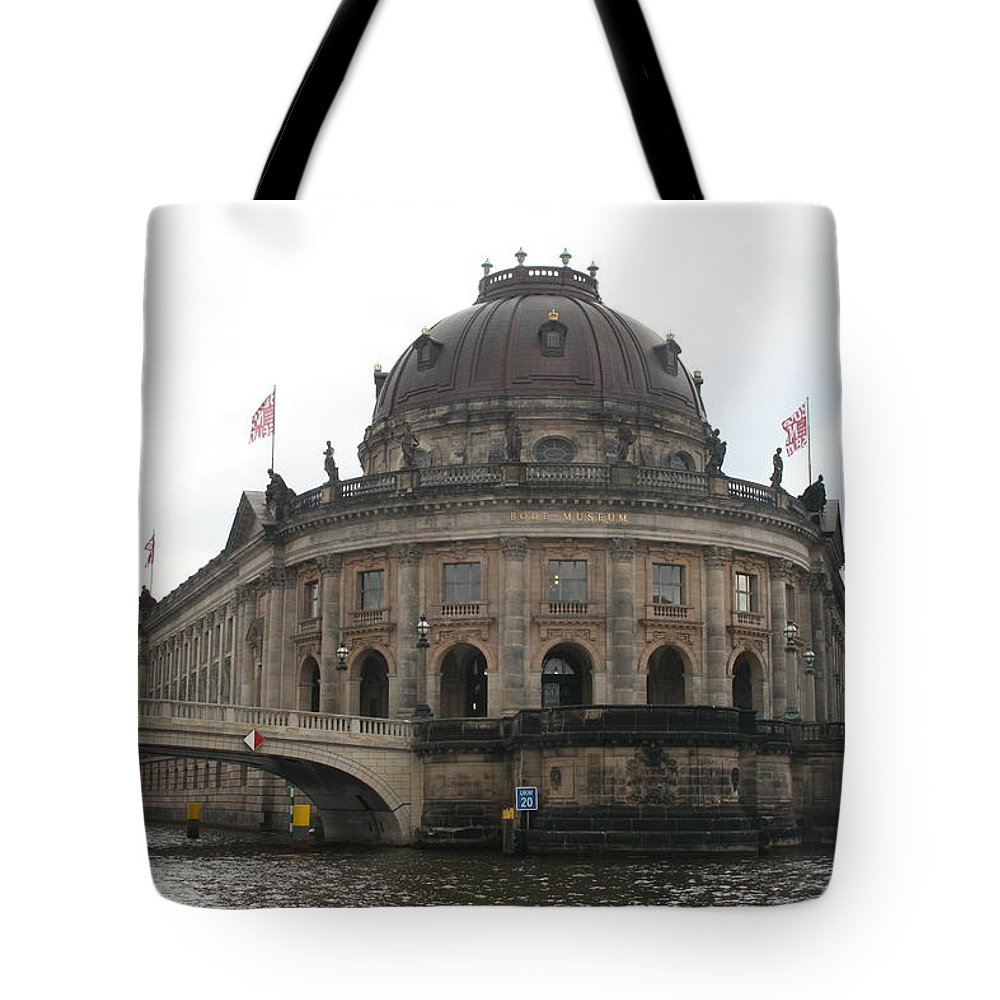 Museum Tote Bag featuring the photograph Bode Museum - Berlin - Germany by Christiane Schulze Art And Photography