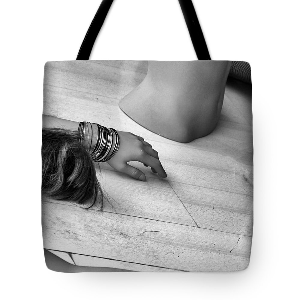 Adult Tote Bag featuring the photograph Body Parts by Stelios Kleanthous