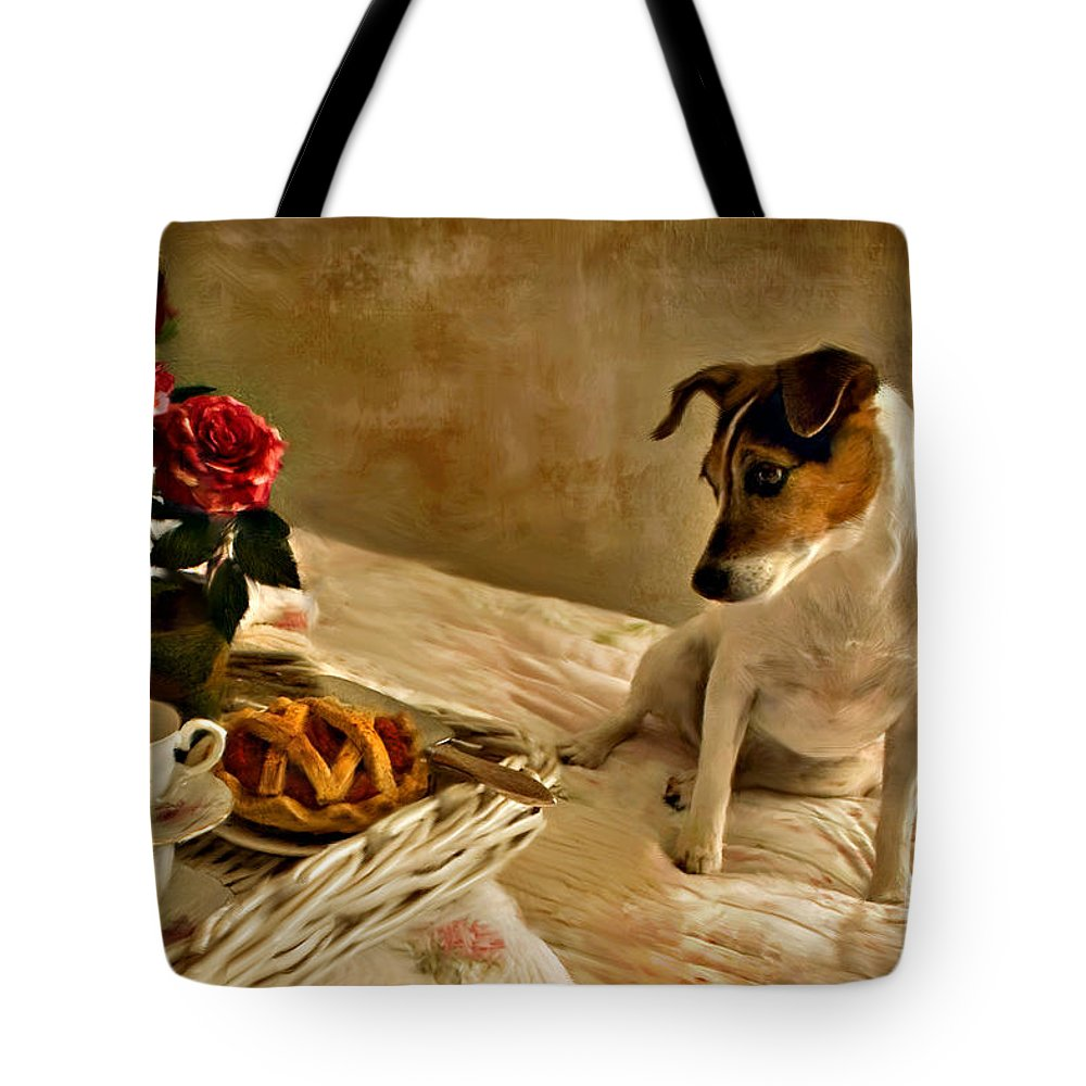 Tote Bag featuring the photograph Bon Appetit by Jean Hildebrant