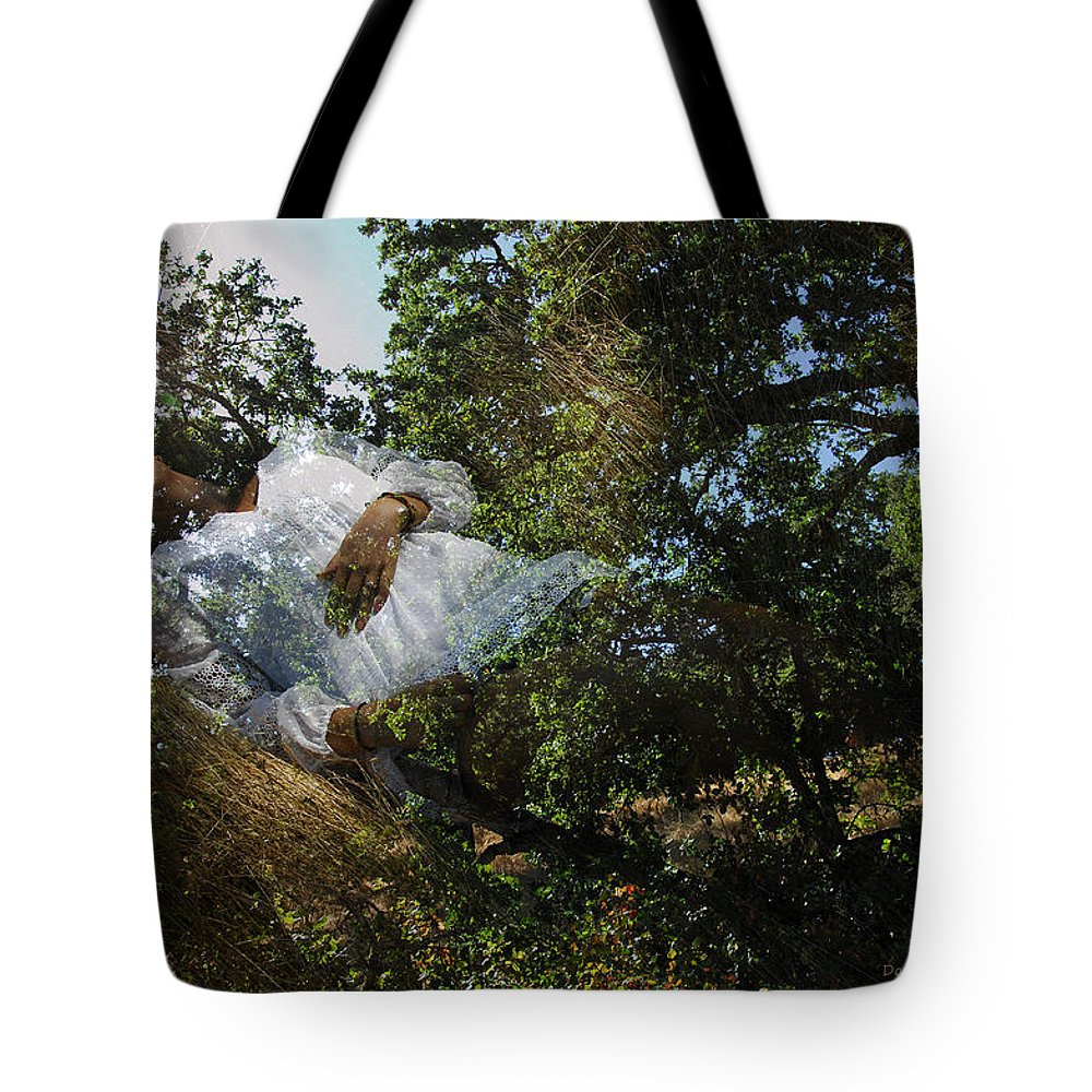 Forest Tote Bag featuring the photograph Born Of Sunshine by Donna Blackhall
