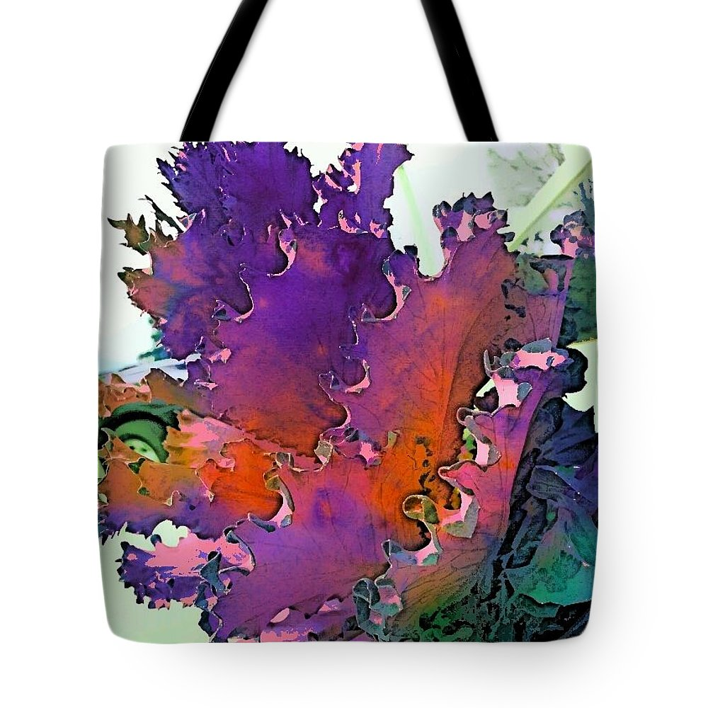 Botanical Paintings Tote Bag featuring the digital art Botanica Fantastica I by Pamela Smale Williams