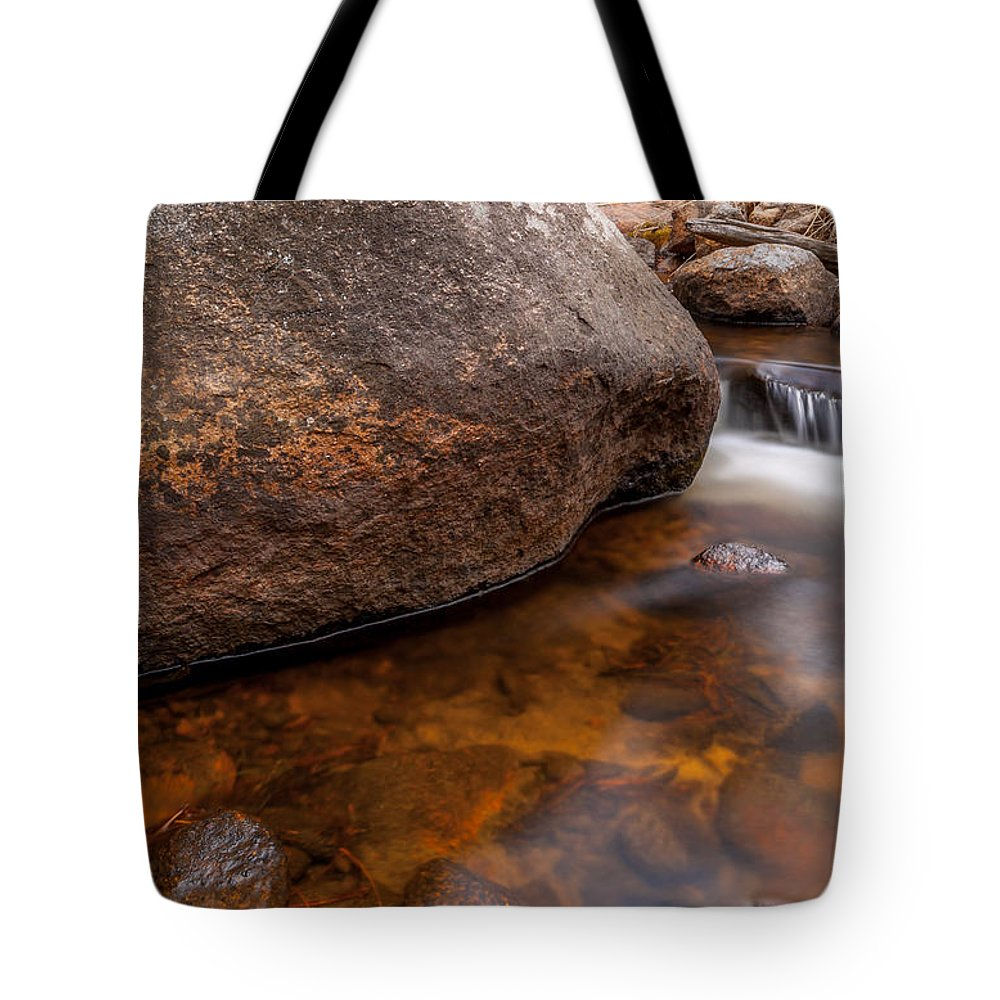 River Tote Bag featuring the photograph Boulder by Craig Forhan