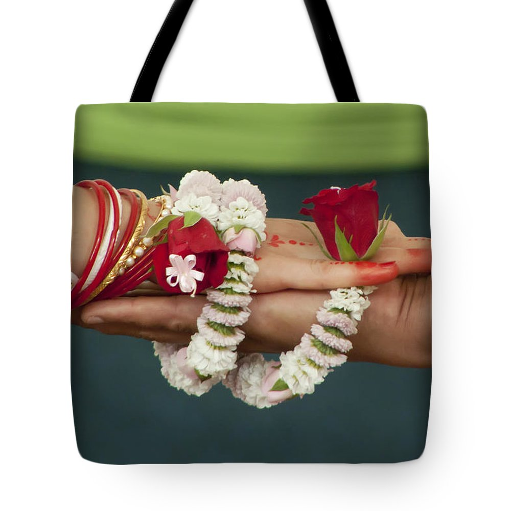 Bound Tote Bag featuring the photograph Bound For Eternity by Daniel Csoka