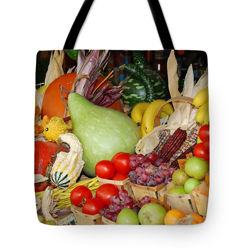 Fruits Tote Bag featuring the photograph Bountiful Harvest by Lynn Bauer