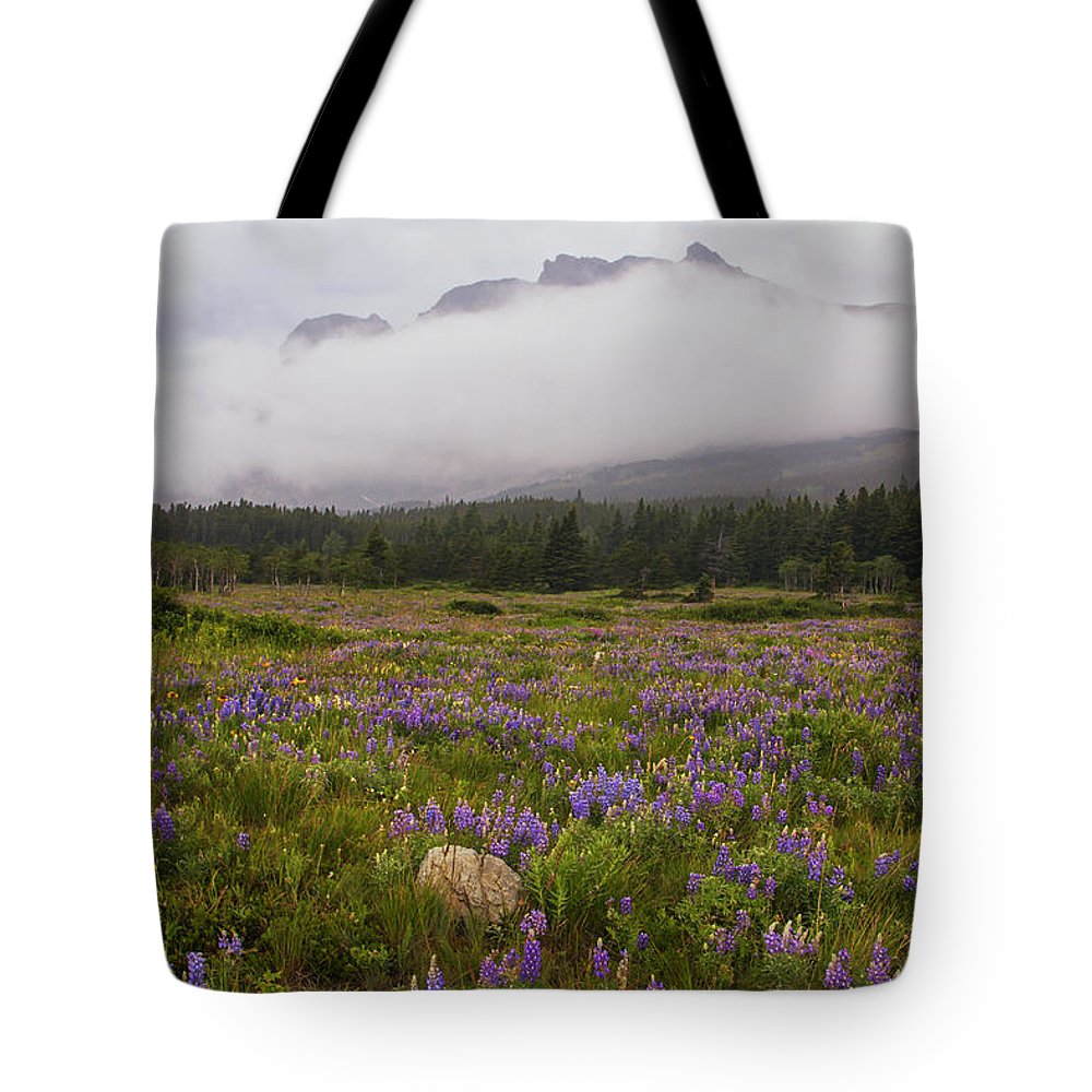 Calm Tote Bag featuring the photograph Bouquet Of Glacier by Mark Kiver