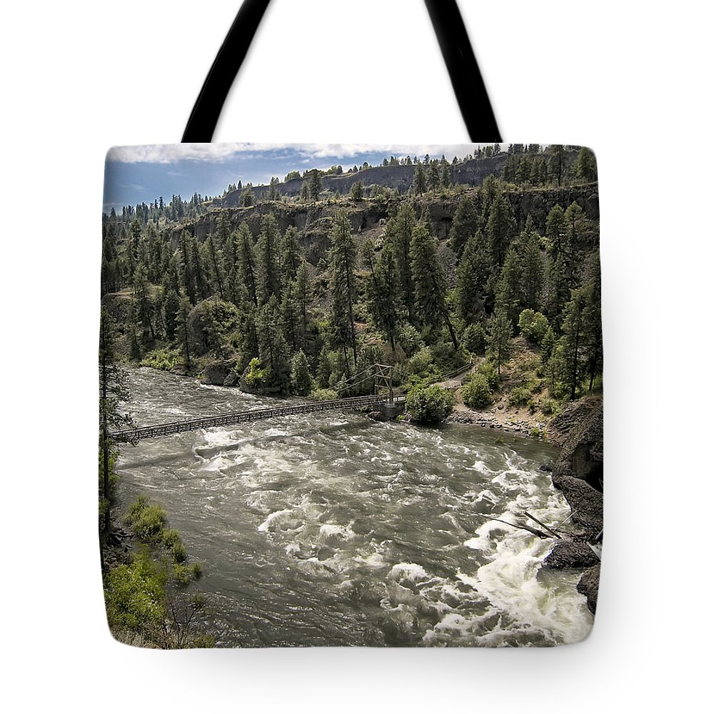 riverside State Park Tote Bag featuring the photograph Bowl And Pitcher Area - Riverside State Park - Spokane Washington by Daniel Hagerman