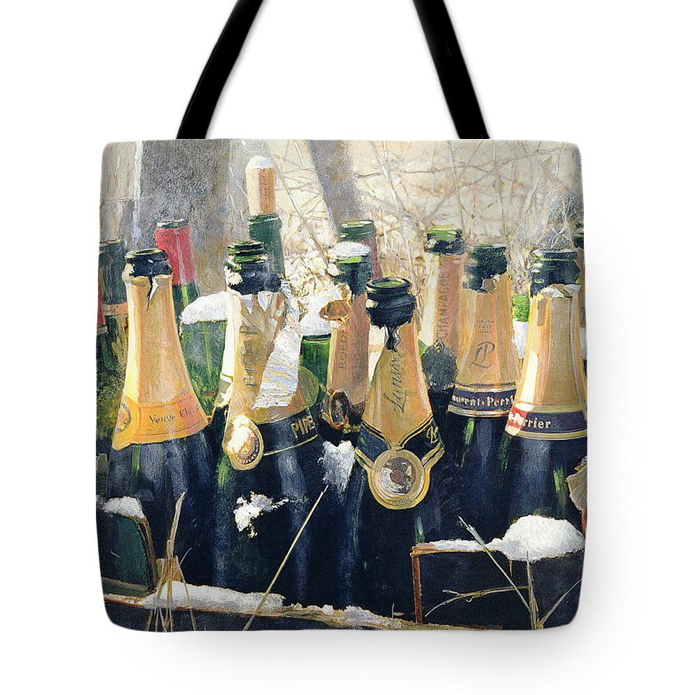 Champers Tote Bags