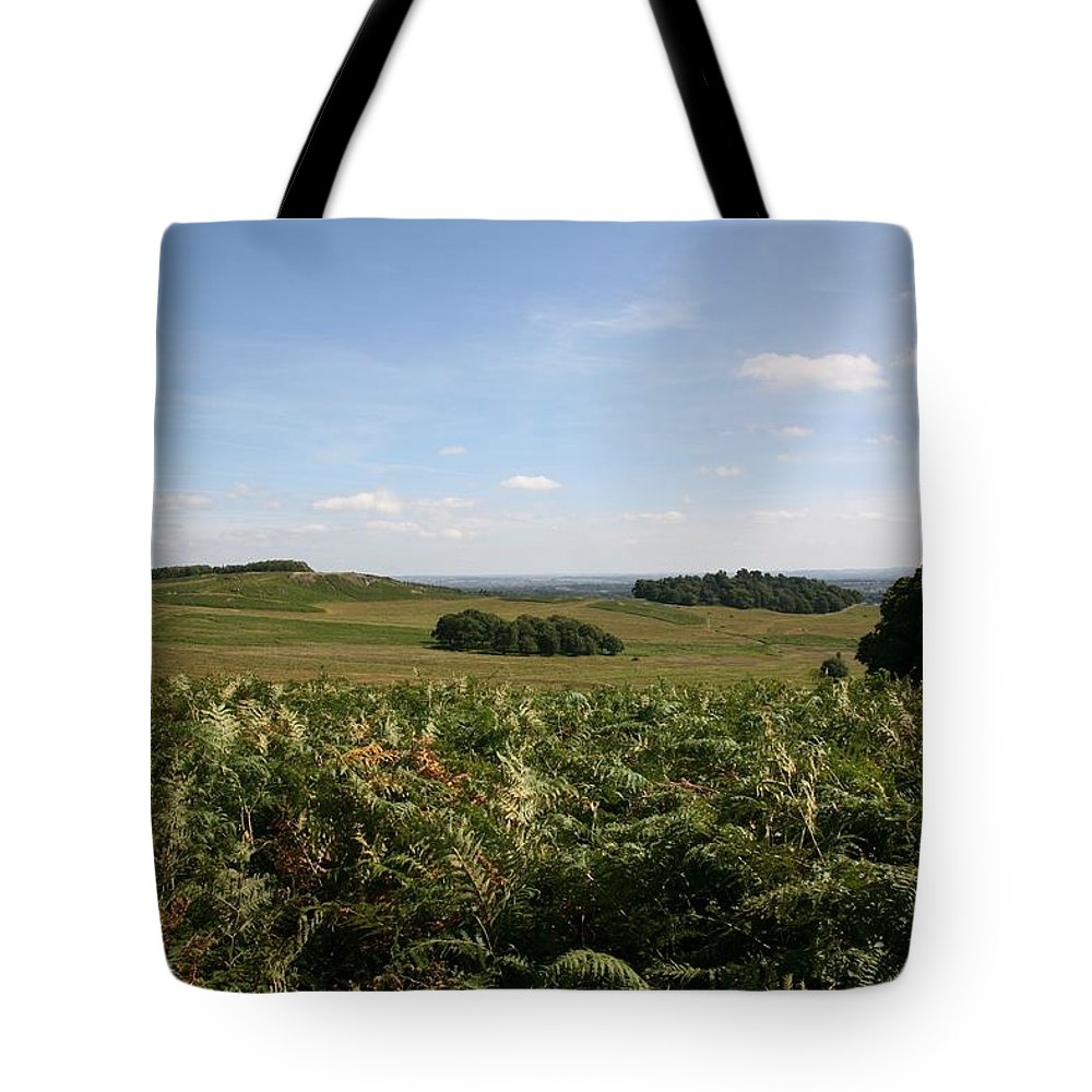Bradgate Park Tote Bag featuring the photograph Bradgate Park by Mark Severn