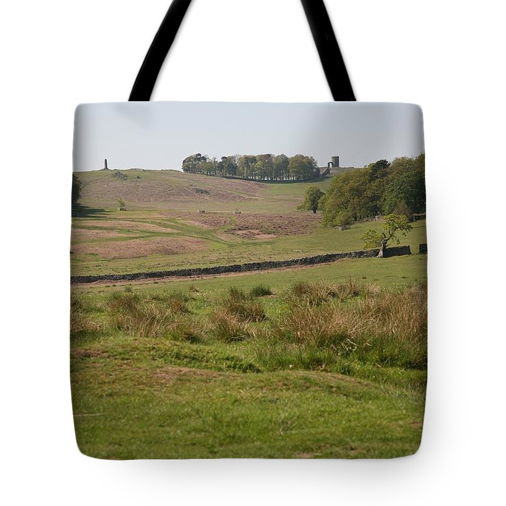 Bradgate Park Tote Bag featuring the photograph Bradgate Park Scenery by Mark Severn