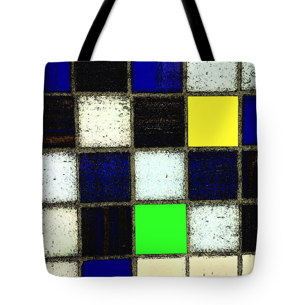 Tiles Tote Bag featuring the photograph Braisen Tiles by Catherine Ratliff