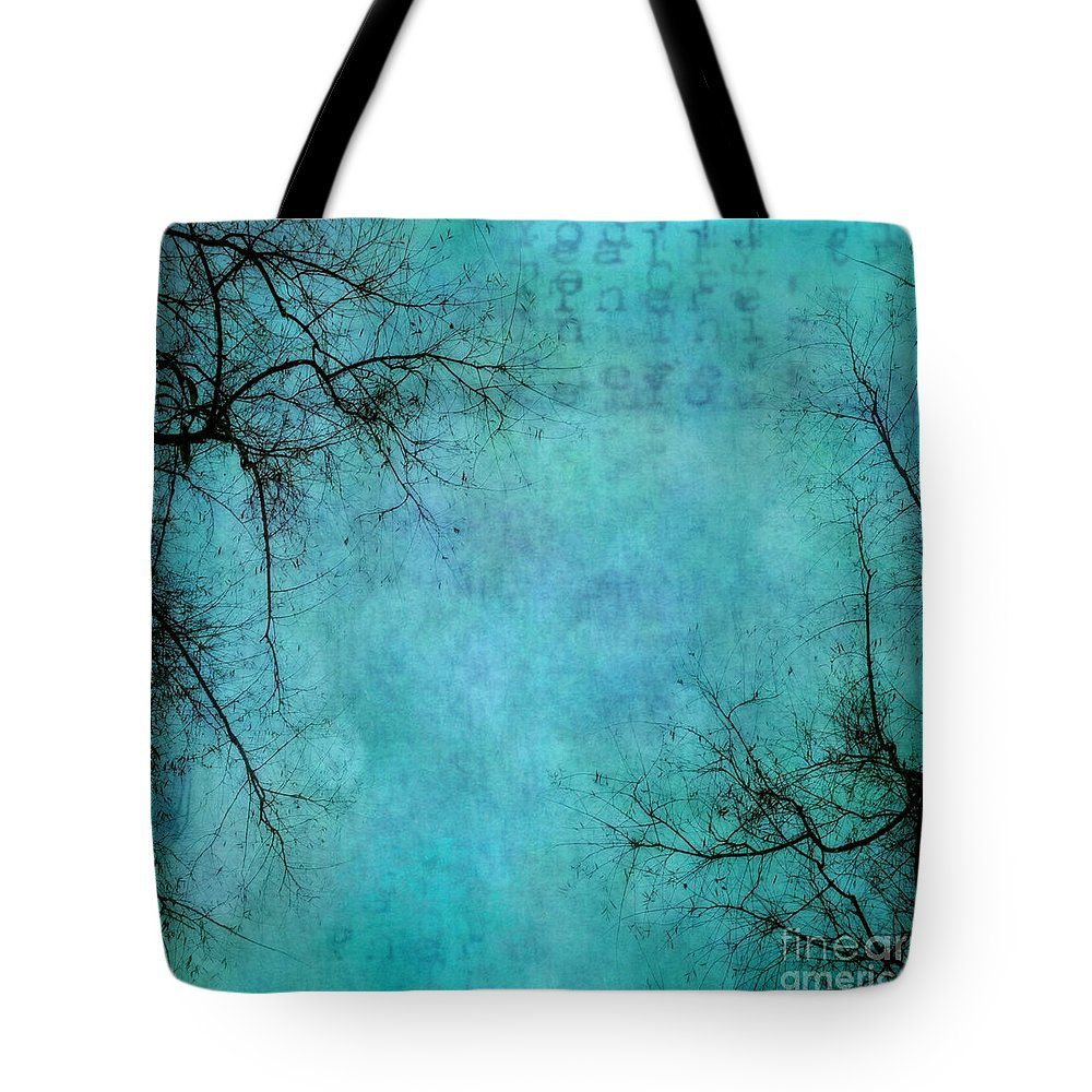 Branches Tote Bag featuring the photograph Branches by Priska Wettstein