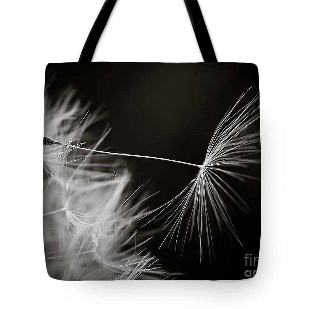 Escaping Seed Tote Bag featuring the photograph Breaking Free by Brothers Beerens