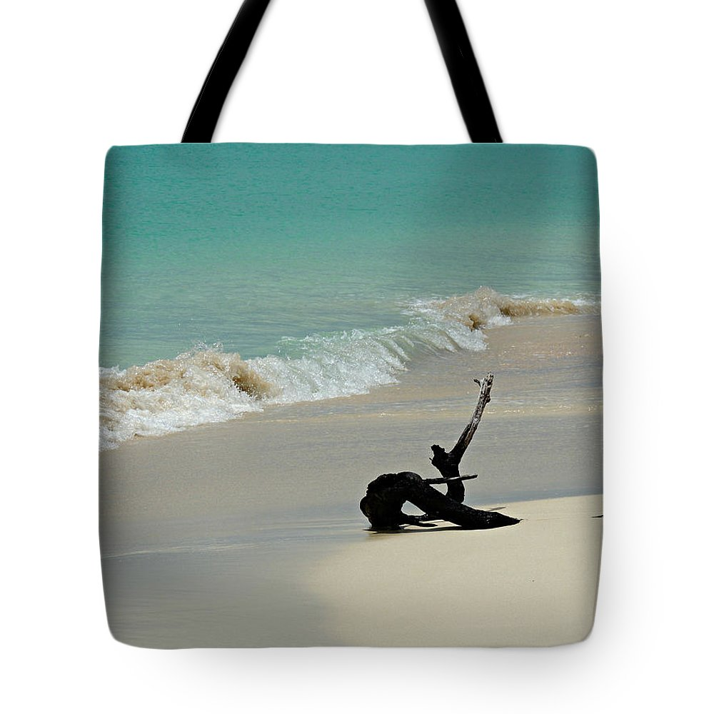 Barbuda Tote Bag featuring the photograph Breathtaking Barbuda by Kimberly Perry