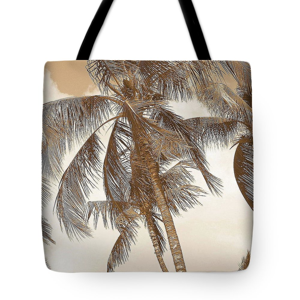 Sepia Sunset Pictures Tote Bag featuring the photograph Breeze by Athala Carole Bruckner