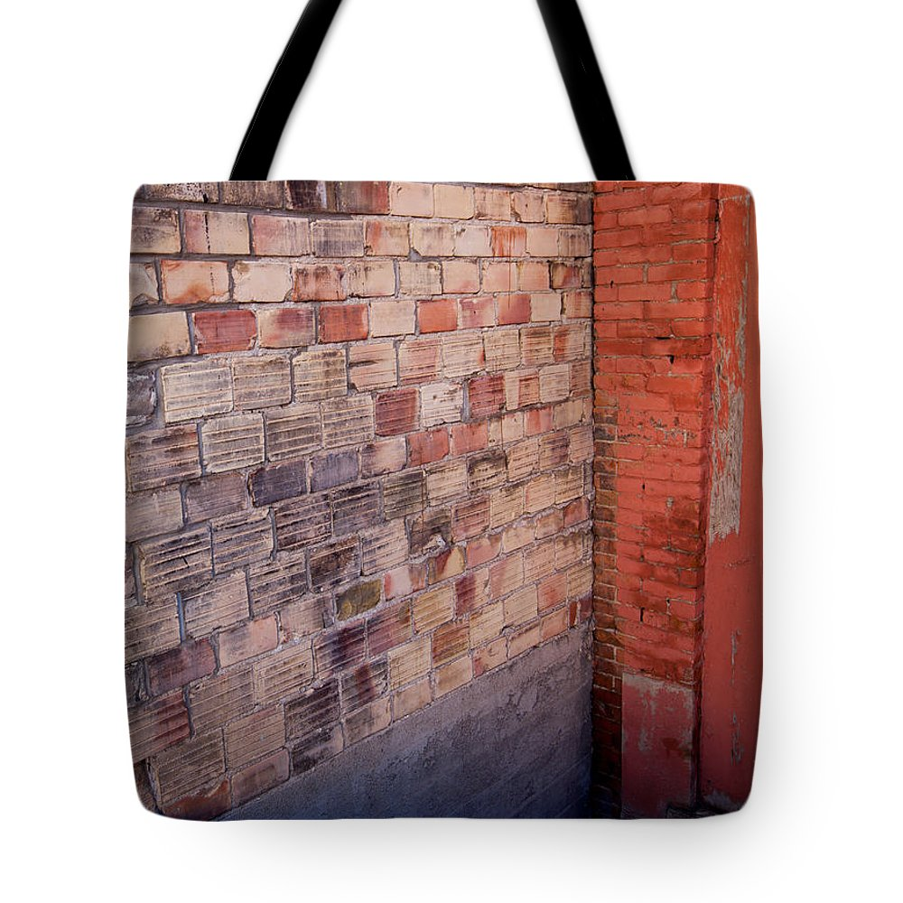 Plane Tote Bag featuring the photograph Brick Wall by Fran Riley
