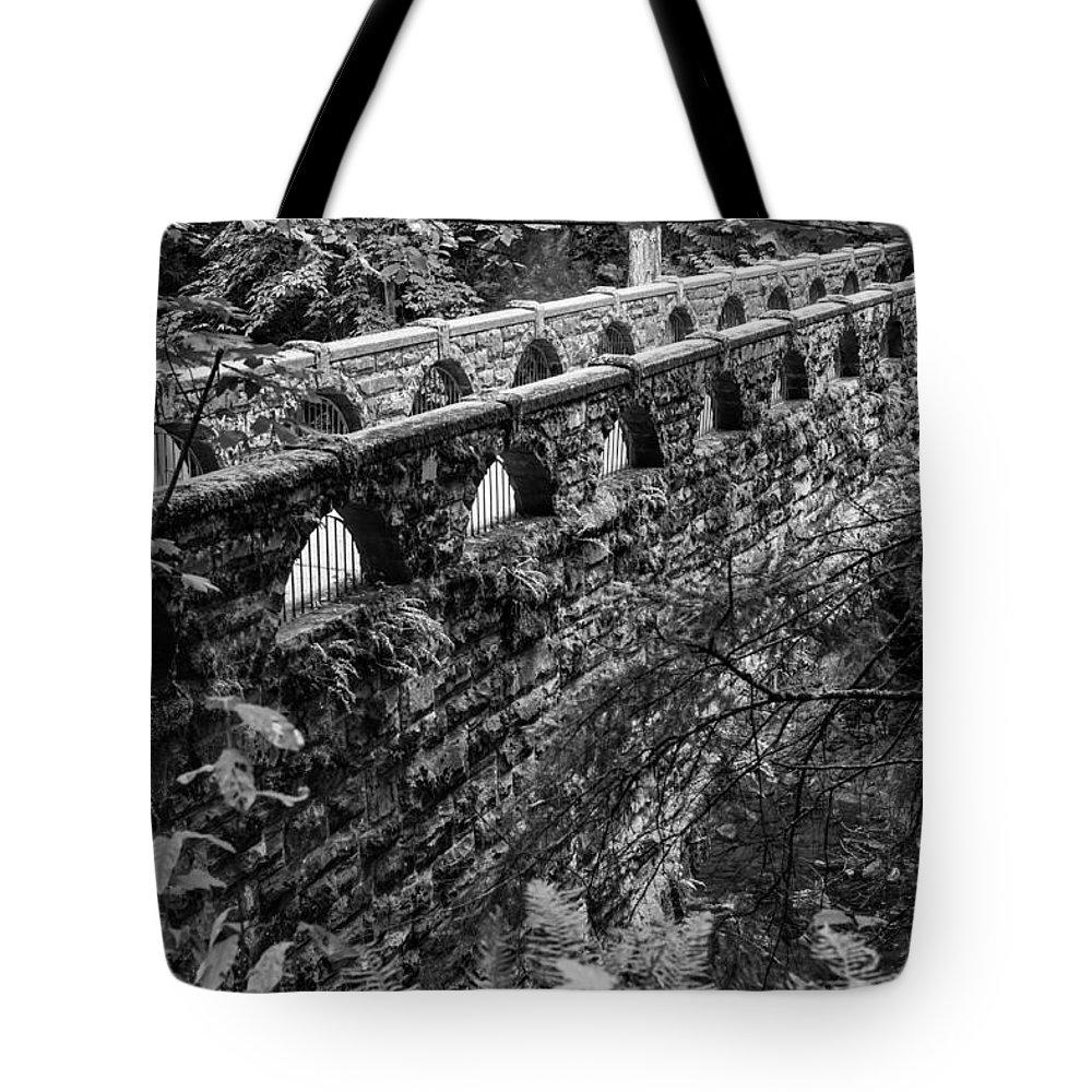 Bridge Tote Bag featuring the photograph Bridge At Whatcom Falls Park by Priya Ghose