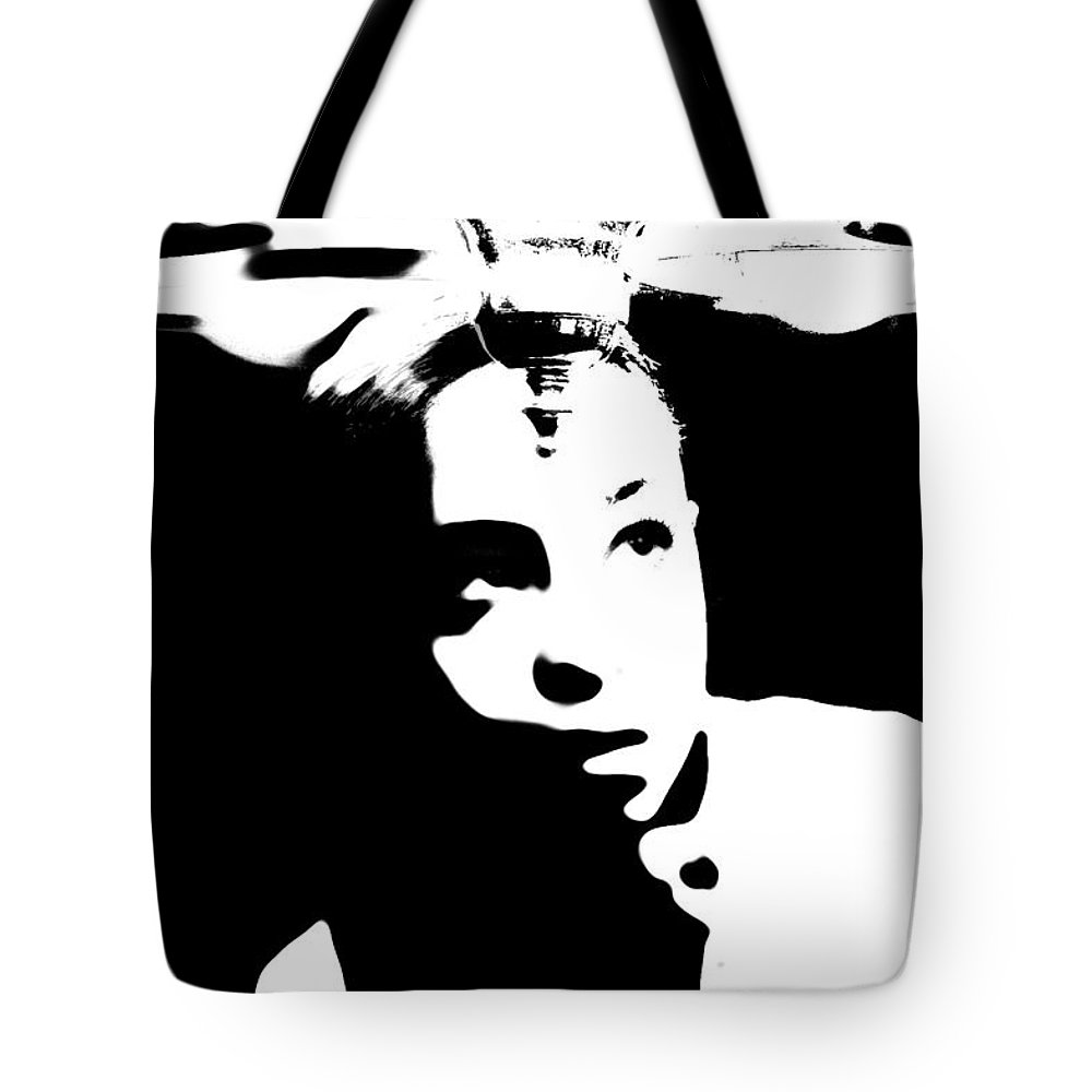 Black Tote Bag featuring the photograph Bright Idea by Jessica Shelton