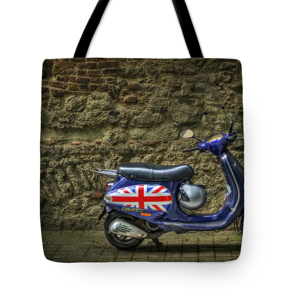 London Tote Bag featuring the photograph British At Heart by Evelina Kremsdorf