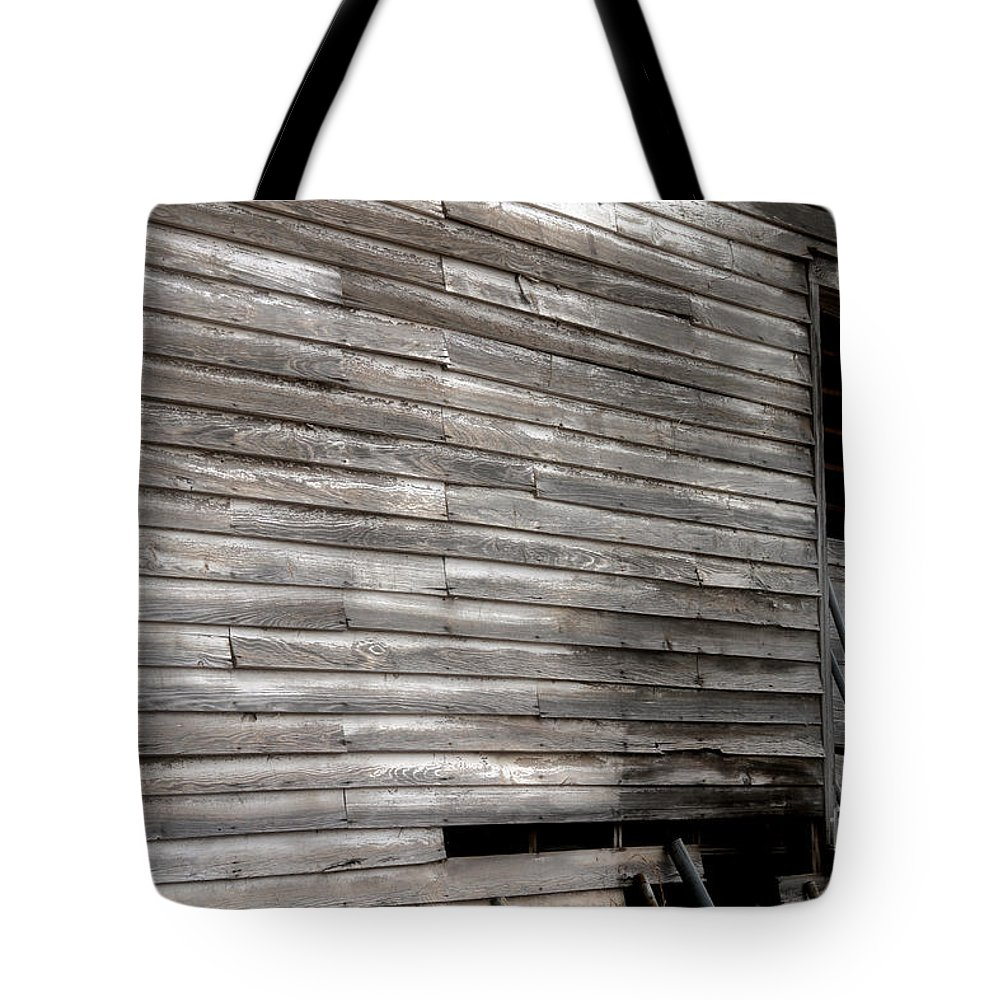 Abandoned Barn Tote Bag featuring the photograph Broken Door By Diana Sainz by Diana Raquel Sainz