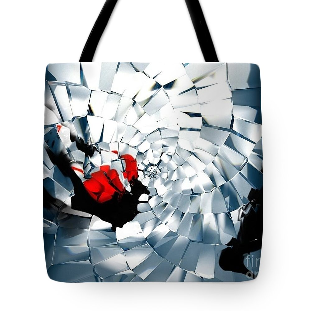 Tote Bag featuring the photograph Broken by Jessica Shelton