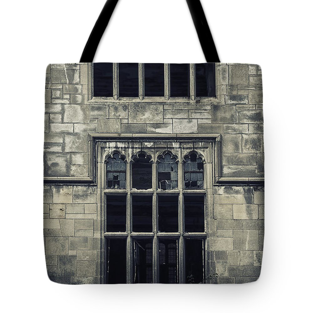Window Tote Bag featuring the photograph Broken Religion by Margie Hurwich