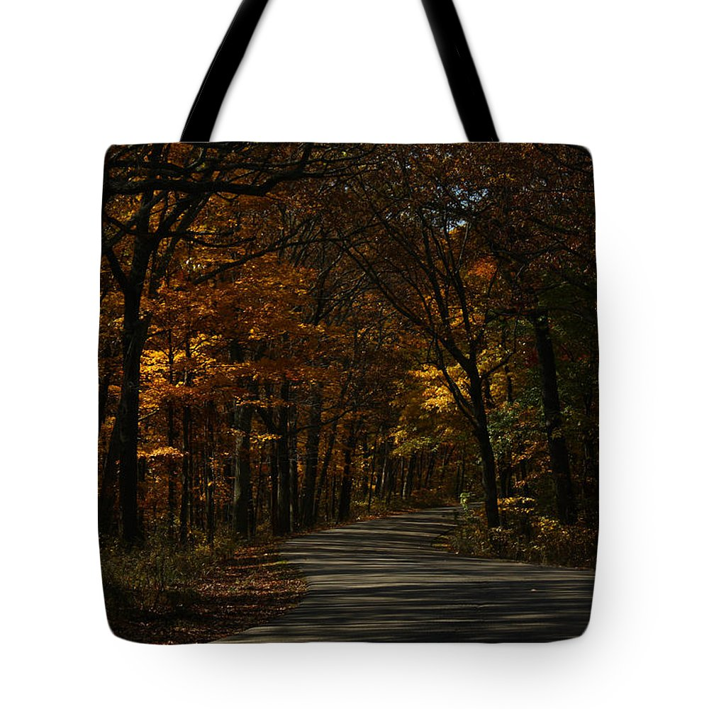 Brown County State Park Tote Bag featuring the photograph Brown County State Park by Dan McCafferty