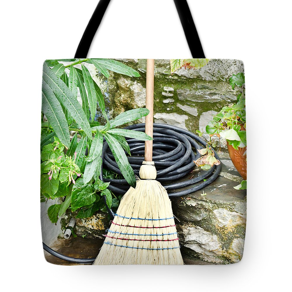 Agriculture Tote Bag featuring the photograph Brush by Tom Gowanlock