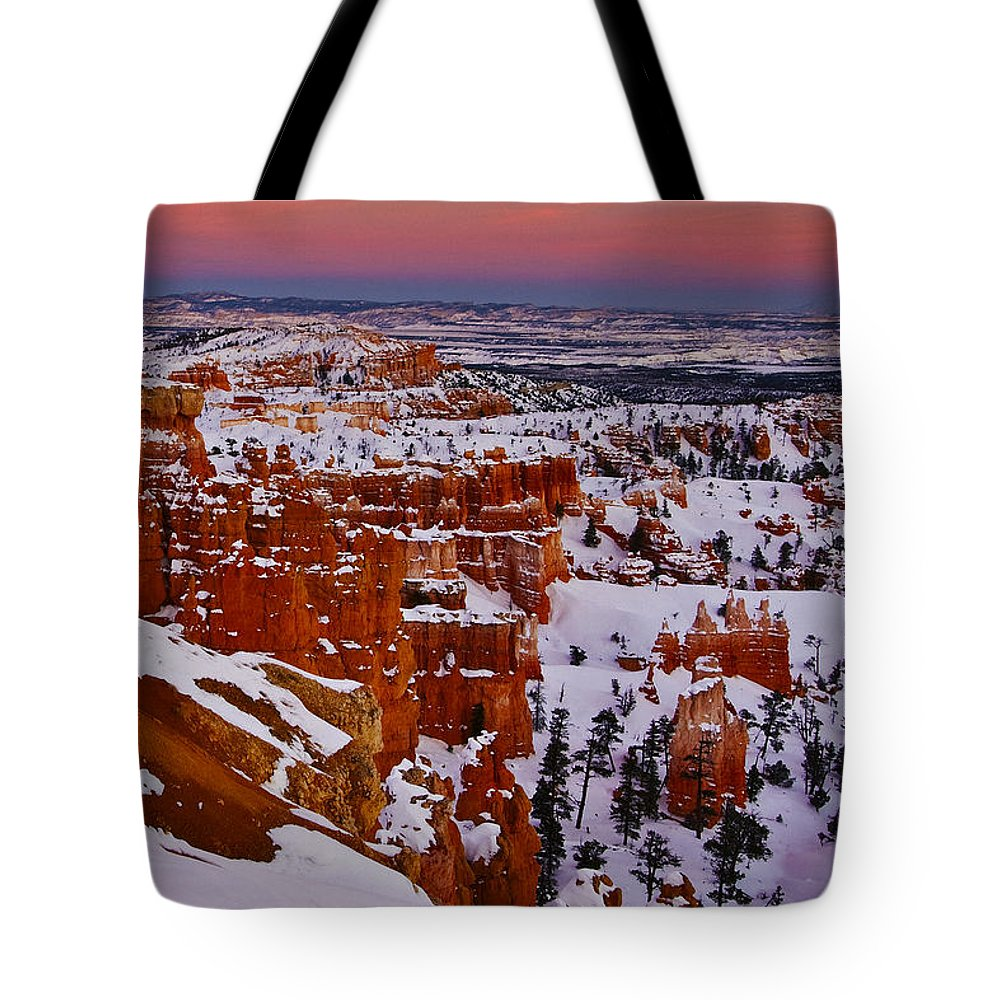 Bryce Tote Bag featuring the photograph Bryce 22 by Ingrid Smith-Johnsen