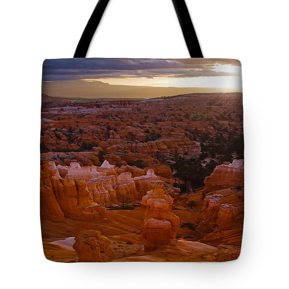 Bryce Tote Bag featuring the photograph Bryce 45 by Ingrid Smith-Johnsen