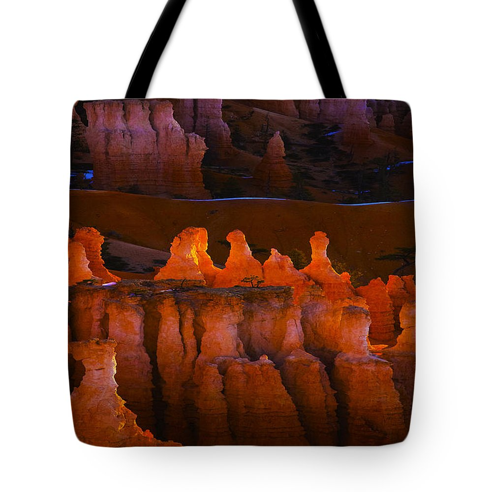 Bryce Tote Bag featuring the photograph Bryce 48 by Ingrid Smith-Johnsen